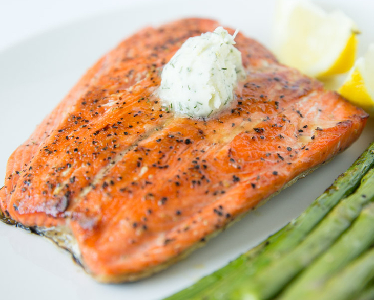 salmon-with-a-dill-butter
