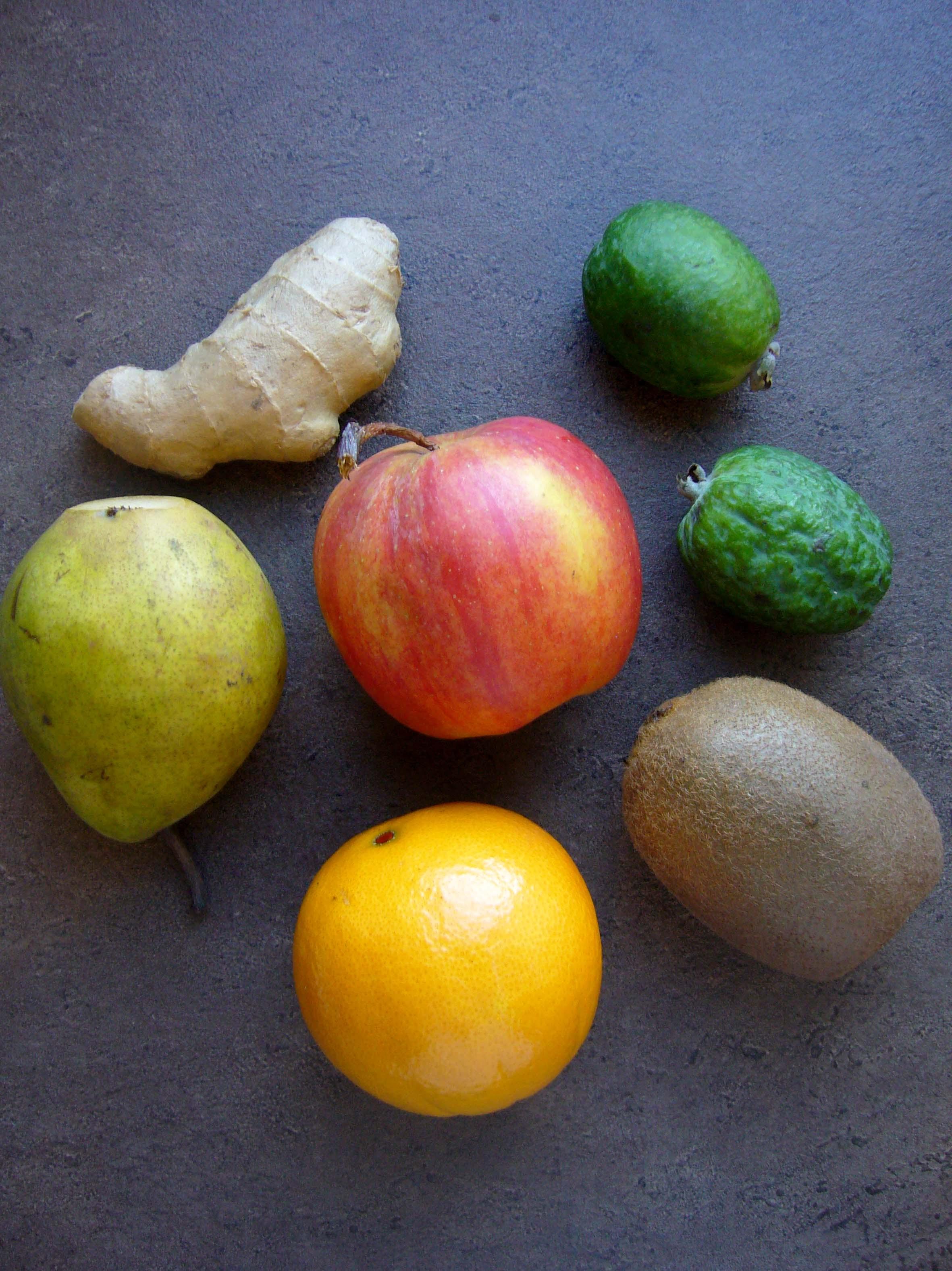 Тартар из фруктов