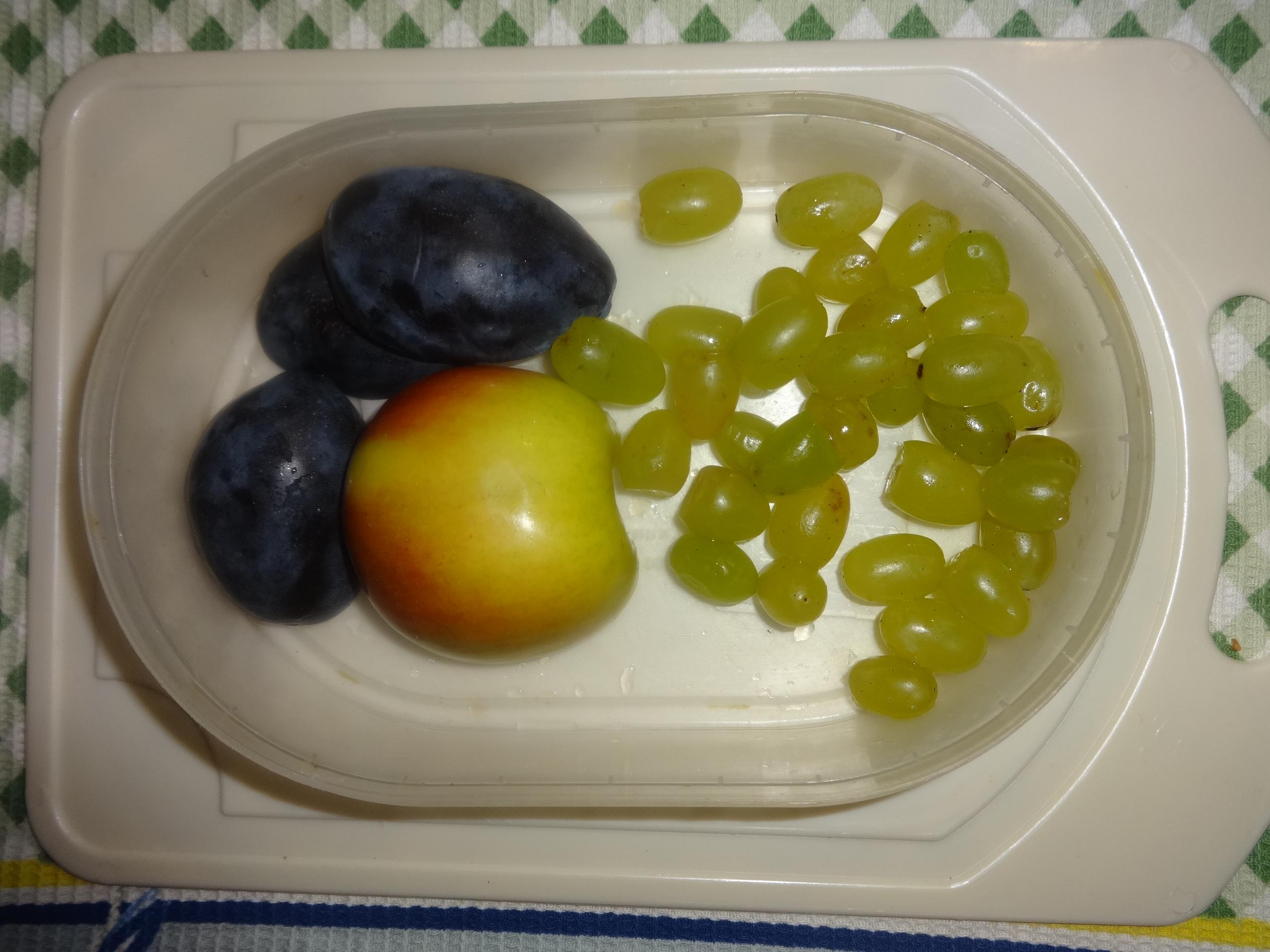 Корзиночки с фруктами в желе