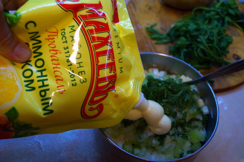 Картофельный салат с сельдереем, 1001 вариант! # махеевнаприроде