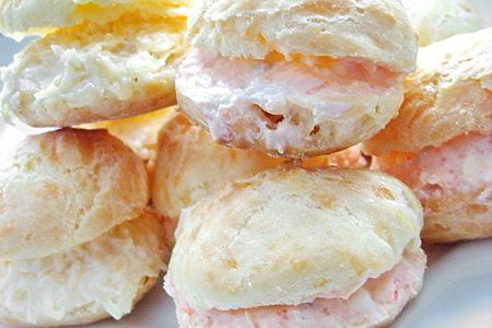 Гужеры - французские заварные сырные булочки