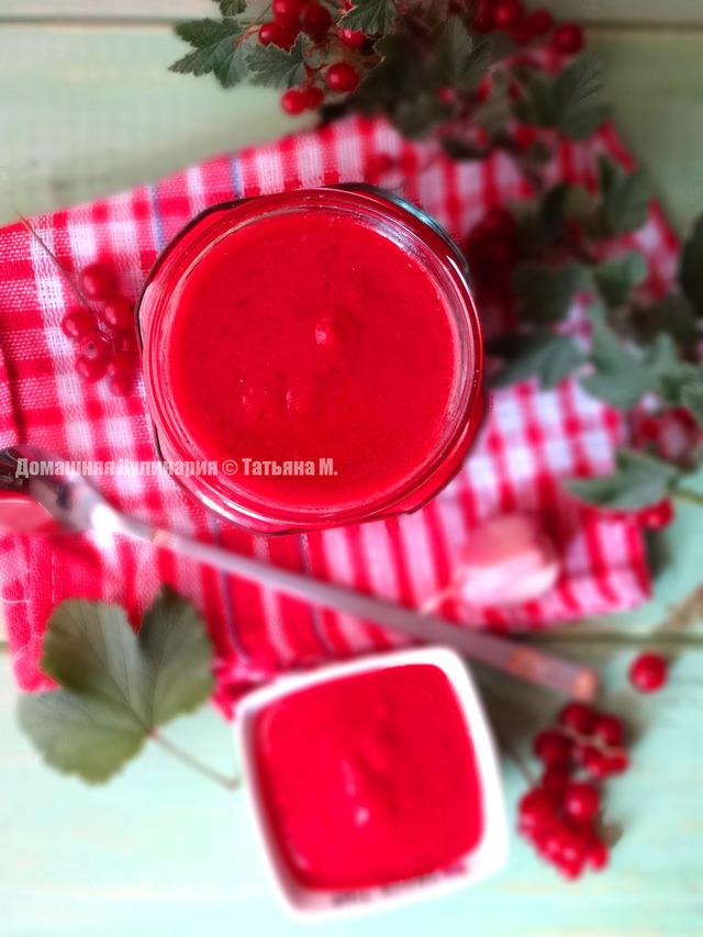 Смородиновый соус с коньяком – кулинарный рецепт