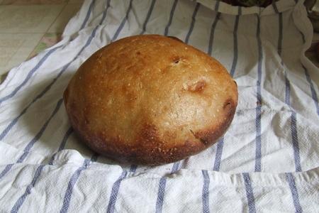 Простой домашний хлеб на закваске