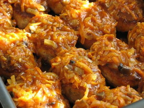 Котлеты с начинкой – кулинарный рецепт