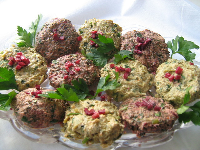 Пхали из свежей зелени, пошаговый рецепт с фото